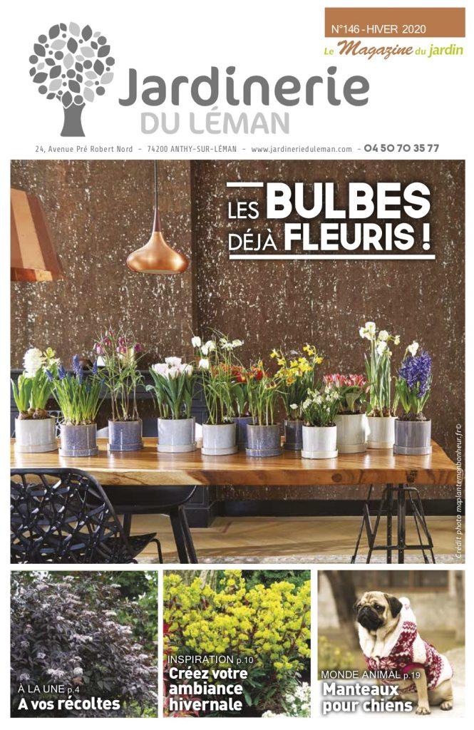 Magazine hiver 2020 Jardinerie du Léman